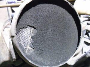zapušenje dpf filtera