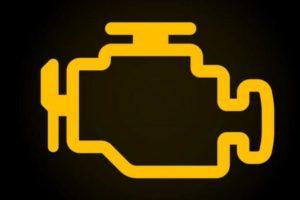 Lampica upozorenja za proveru motora