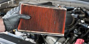 Prljav filter vazduha