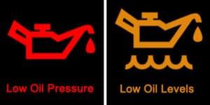 Lampica upozorenja za ulje