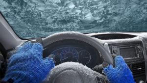 Automobil Teško Pali zimi pri niskim temperaturama?